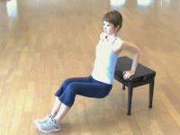 タイミング体操・二の腕エクササイズ