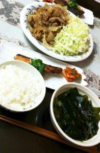 後藤真希さん 料理