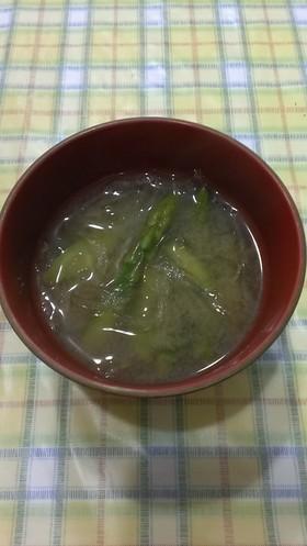 いつもの味噌汁やスープに糸寒天♪
