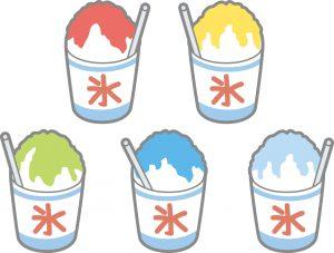 かき氷シロップ