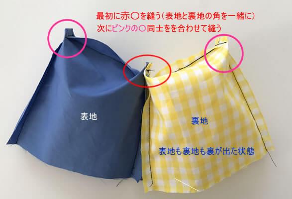 レッスンバッグの作り方6