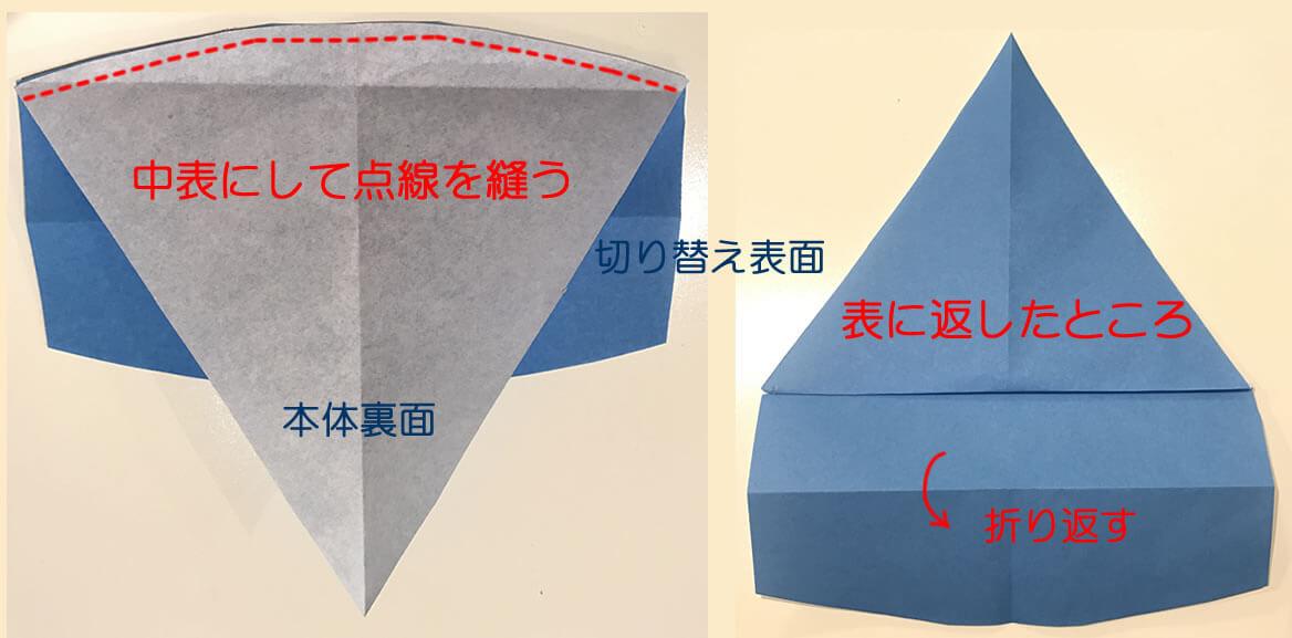 子供用三角巾の作り方5