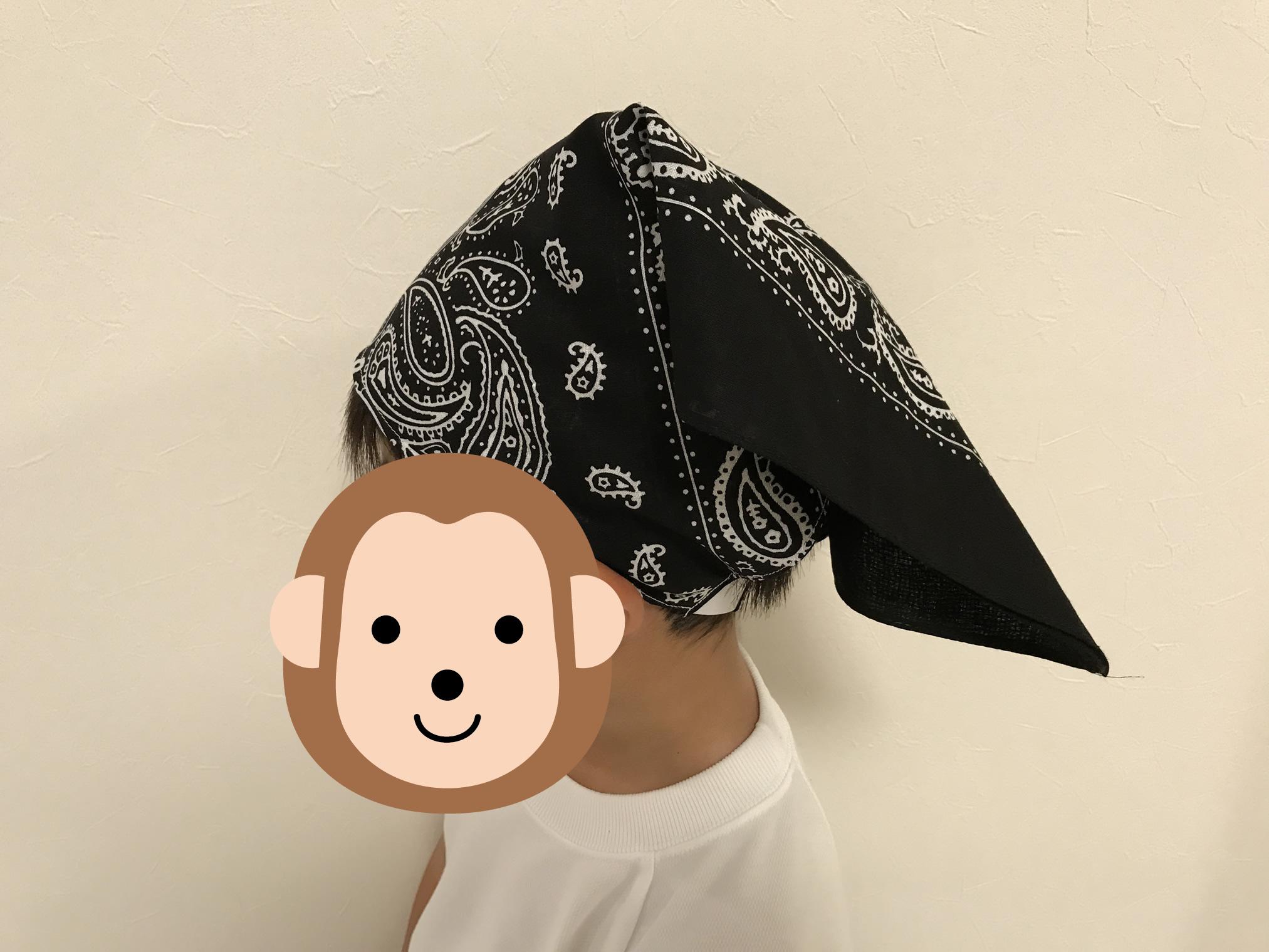 バンダナ三角巾完成