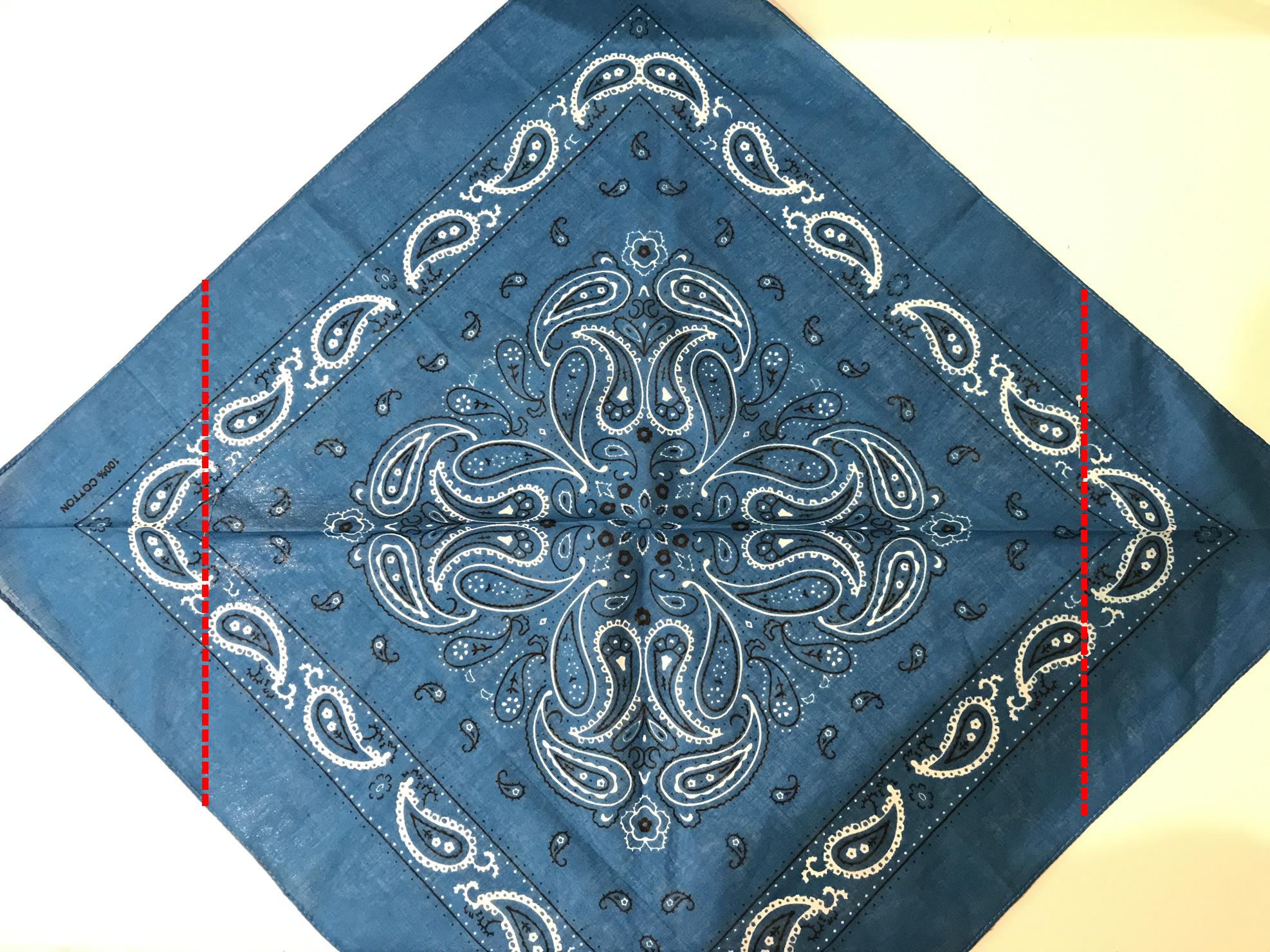 バンダナ三角巾の作り方3