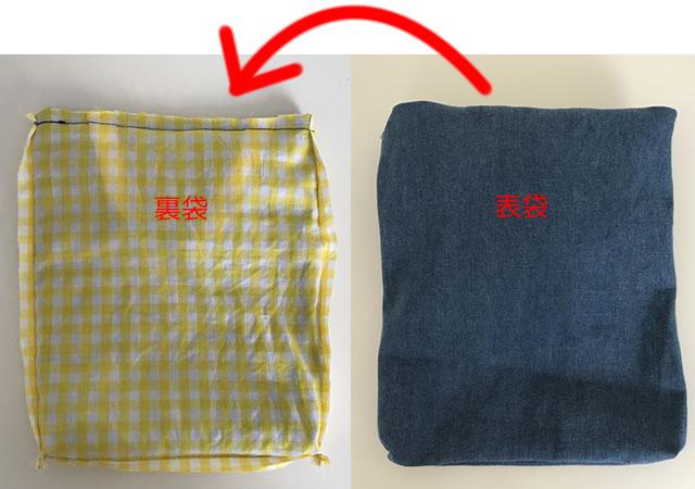 上履き袋の作り方6