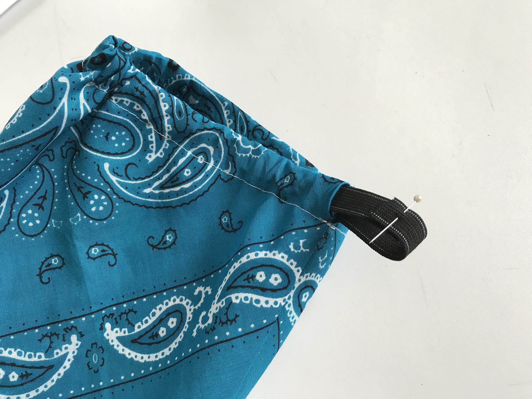 バンダナ三角巾の作り方7
