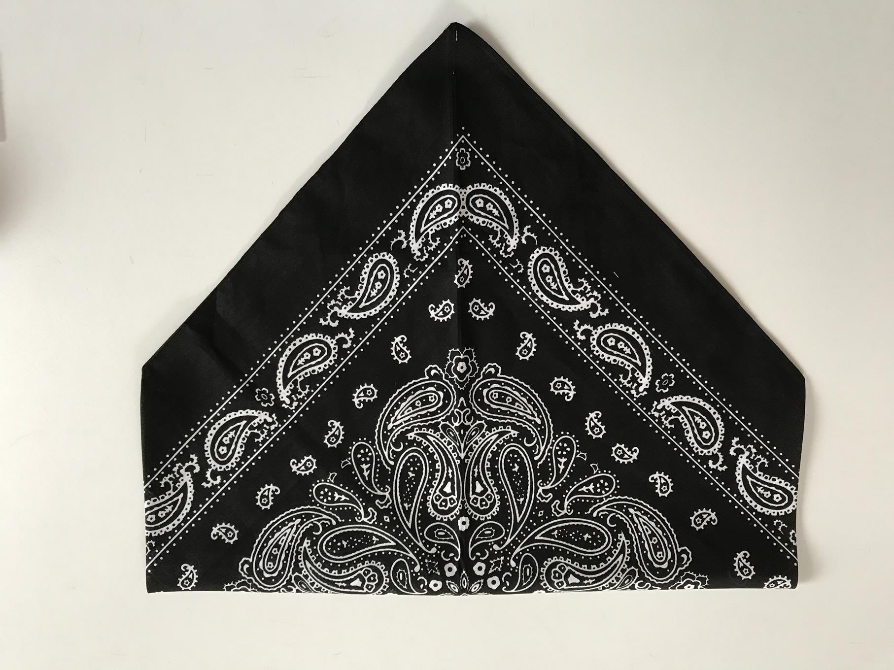 バンダナ三角巾の作り方2-4