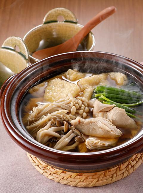 鶏胸肉のきのこ鍋