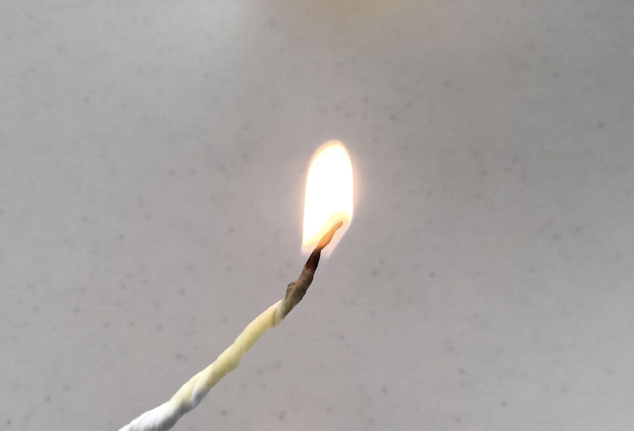 ギーに火をつける