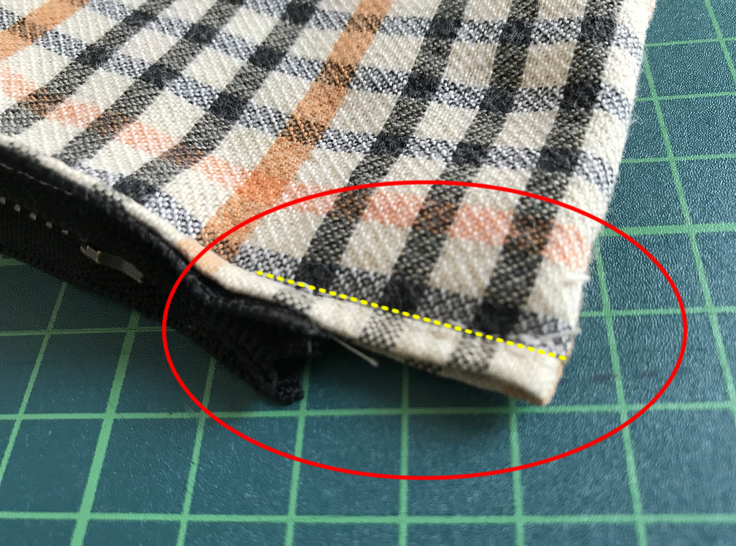 あきを縫う